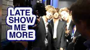LATE SHOW ME MORE: BTS & THE BIG BANG THEORY [Video]