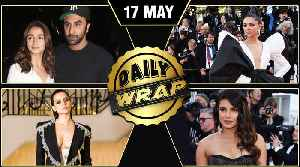 Deepika, Priyanka, Kangana @ Cannes, Ranbir Alia Movie Date | Top 10 News [Video]