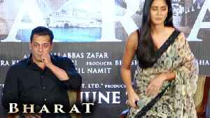 Katrina Kaif LEAVES Salman Khan In Between Press Conference [Video]