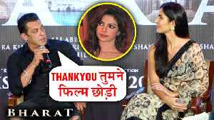 Salman Khan TAUNTS Priyanka Chopra In Public For Leaving Bharat [Video]
