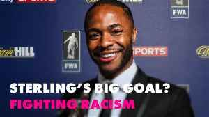 Why BBC named Raheem Sterling an anti-racism role model [Video]
