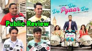 PUBLIC REVIEW | De De Pyaar DE | Ajay, Tabu & Rakul [Video]