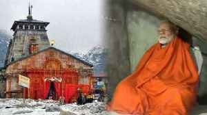 PM Modi visits Holy Cave near Kedarnath Temple for Meditation | Oneindia News [Video]