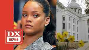 Rihanna Calls Out Alabama Governor Kay Ivey and Male Lawmakers For Controversial Abortion Bill
