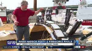 Baltimore celebrates Preakness with Inner Harbor party and fireworks finale [Video]