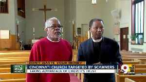 Cincinnati church targeted by scammers demanding money [Video]
