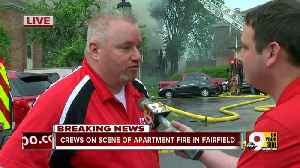 Dozens displaced by Fairfield apartment fire [Video]