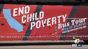 'End Child Poverty' bus tour kicks off from South Bay [Video]