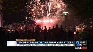 Preakness Stakes extends party to Inner Harbor [Video]