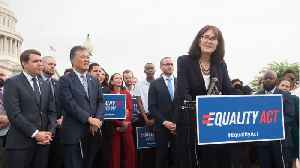 News video: The equality act passes in the House of Representatives