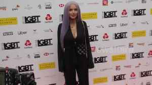 Helen Flanagan looks unrecognisable as she arrives at the British LGBT Awards 2019 [Video]