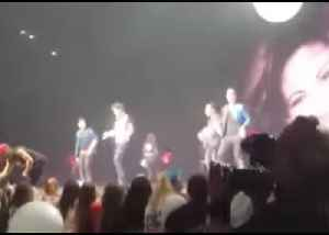 New Kids On The Block Perform Selena Tribute With Her Sister in Audience [Video]