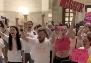 Pro-Choice Activists Swarm Missouri State Capitol to Protest Abortion Ban [Video]