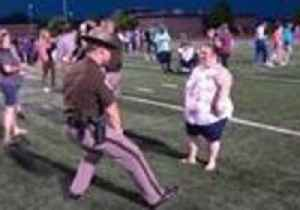 Highway Trooper and Special Olympics Athlete Show Off Their Best Dance Moves [Video]