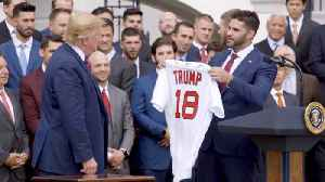 The Boston Red Sox And President Trump [Video]