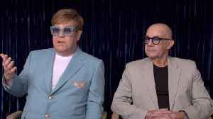 Elton John And Bernie Taupin Discuss 'Rocketman' In Cannes [Video]
