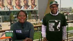 Remember Bucks superfan Jerome? He's back! [Video]