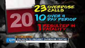 'Every second is precious': 23 people overdose in Kenosha in three-week period [Video]