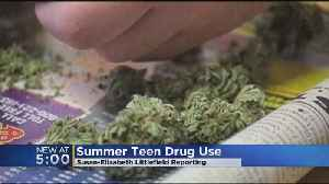 Summer Months Means A Spike In Drug Use for Teens [Video]
