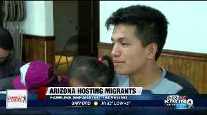 Dance hall near Yuma converted into temporary migrant shelter [Video]