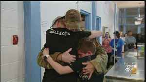 Military Father Surprises Sons With Secret Homecoming After 6-Month Deployment [Video]