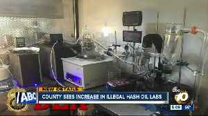 County sees increase in illegal hash oil labs [Video]
