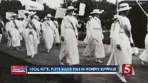 Nashville's Role in Women's Suffrage subject of city-wide book club meeting [Video]