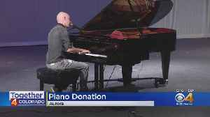 Isaac Slade Of The Fray Helps Music Class In Aurora [Video]