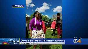 Oprah Winfrey Will Deliver Commencement For Colorado College [Video]