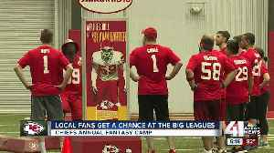 Chiefs Fantasy Camp participants learn from legendary former players [Video]