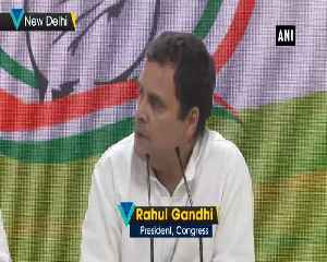 Congress priority in UP is BJPs defeat Rahul Gandhi on SP BSP alliance [Video]