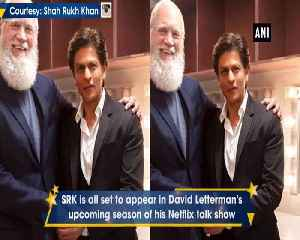 News video: Shah Rukh Khan to be guest on David Letterman's talk show