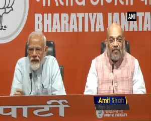 BJP held biggest most extensive campaign for LS polls 2019 Amit Shah [Video]