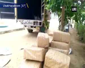 Police seize 690kg of cannabis in Vishakapatnam [Video]