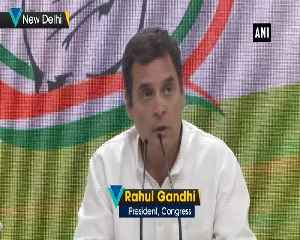 Rahul Gandhi credits media for improving his skills to deal with press [Video]