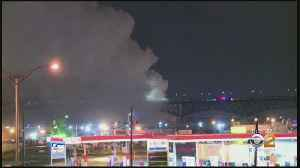 Chlorine Plant Fire In New Jersey [Video]