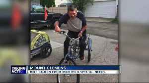 Bike stolen from man with special needs [Video]