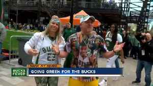 Fans show off their Milwaukee Bucks dedication at Game 2 [Video]