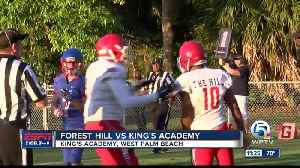 Forest Hill vs King's Academy Football [Video]