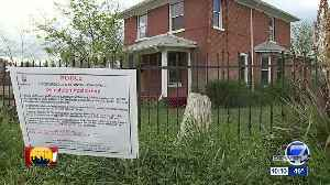 Man trying to save 113-year-old home Park Hill [Video]