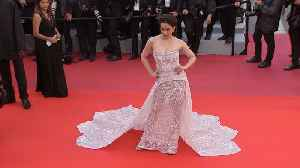 Cannes 2019: Kangana Ranaut stuns in a white Michael Cinco gown [Video]