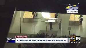 Police investigating armed robbery at Scottsdale Apple store [Video]