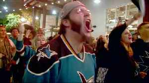 Sharks Super Fans Undaunted by Friday Loss to Blues [Video]