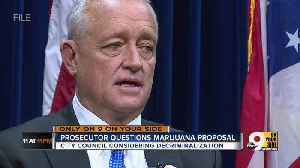 Prosecutor questions Cincinnati's marijuana legalization proposal [Video]