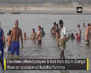Buddha Purnima Devotees take holy dip in Ganga in Prayagraj [Video]