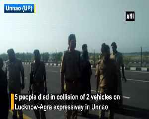 5 dead 30 injured in road accident in UPs Unnao [Video]