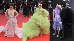 Deepika, Priyanka & Kangana steal the show at Cannes 2019 [Video]
