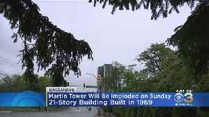 Watch Implosion Of Martin Tower Exclusively On CBS Philadelphia Sunday [Video]