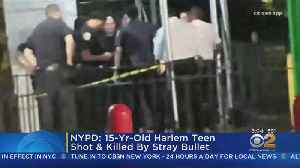 Police: 15-Year-Old Harlem Boy Killed By Stray Bullet [Video]