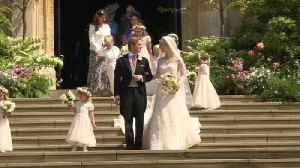 Royals celebrate Lady Gabriella Windsor wedding